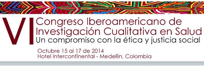 Congresso de pesquisa qualitativa em saúde - Outubro na Colômbia