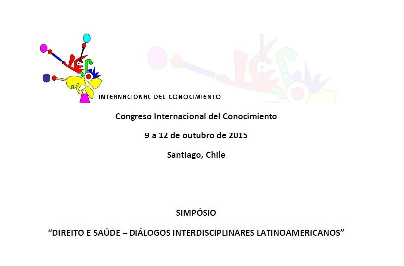 Folder Simpósio Chile - 2015