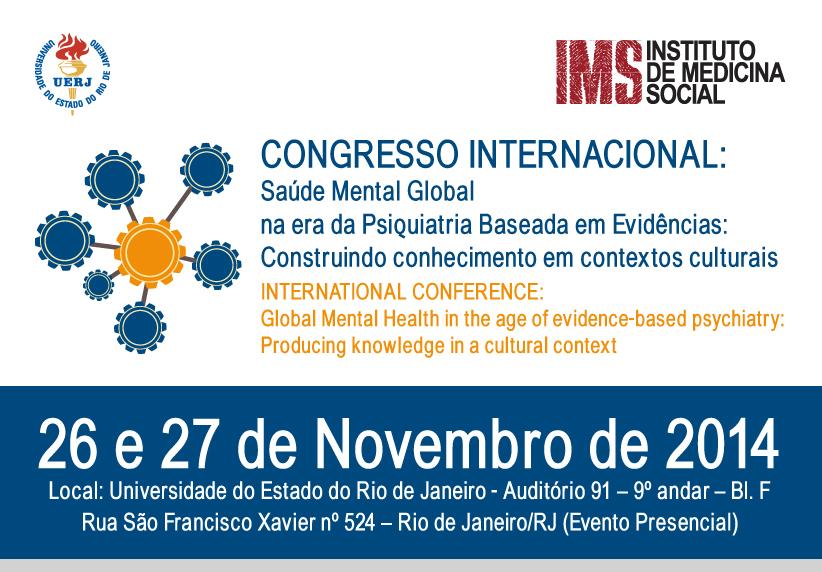 Imagem Congresso Internacional Saúde Novembro